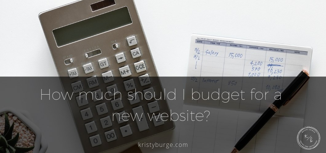 Calculator and checkbook budgeting